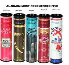RF0 Original Al-nuaim Most Recommended 5 Attar Alcohol Free Concentrated Perfume