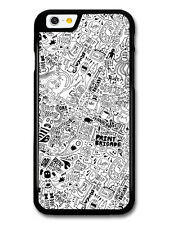 Cool Grunge Black and White Doodle Pattern case for iPhone & Samsung