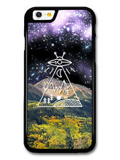 Alien Space Countryside Mountain Collage Minimalist case for iPhone & Samsung