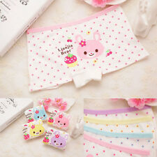 2PCS Girl Underwear Boxer Cotton Cartoon Child Panties Shorts Kids Accessories