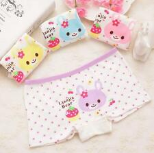 2016 Children Girls Cute Boxer Briefs Underwear Shorts Cartoon Underpants