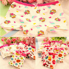 2PCS Kids Girl Underwear Boxer Cotton Lovely Pattern Child Panties Shorts