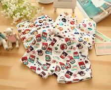 2PCS Kids Boy Underwear Boxer Cotton Lovely Pattern Child Panties Shorts