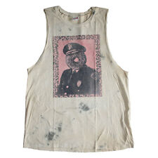 Canotta Obey uomo Obey Officer Sprinkles Dirty Cut Tank Dirty Wash - Size L