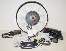 1000w Electric E Bike Conversion Kit + 48v/15amp Lithium Battery Rear Wheel