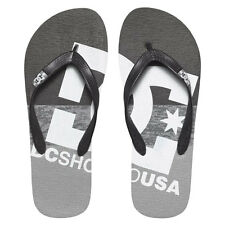 Infradito DC Shoes Sandals Spray Graffik Grey Black