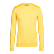Rapha Menswear Style Yellow Merino Sweatshirt. RRP £95. Various Sizes. BNWT.