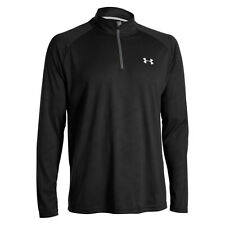 Neu! Under Armour Tech 1/4 Zip Longsleeve Tee Laufshirts Langarm Herren