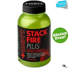 +WATT STACK FIRE PLUS TERMOGENICO DIMAGRANTE CARNITINA FUCUS COLEUS