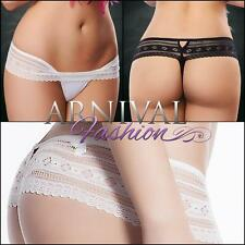 NEW hot lingerie THONG PANTIES shop online LACY KNICKERS lace panty thongs petit