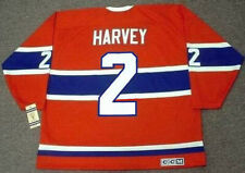 DOUG HARVEY Montreal Canadiens 1959 CCM Vintage Throwback NHL Hockey Jersey