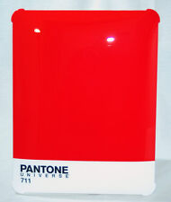 Pantone Universe iPad Shell Hard Case Cover In Black, Grey Red or Blue New