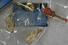 Lapel Mini Pin, Musical instrument Lapel Pin, Musical Jewellery, Ukulele, Tuba