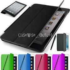 Smart Leather Magnetic Book Stand Folio Case Cover For Apple iPad Mini 2 3 & 4