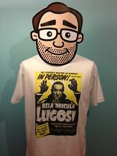 Bela Lugosi - Cult Horror Film Star T-Shirt (Dracula / Theatre Poster)