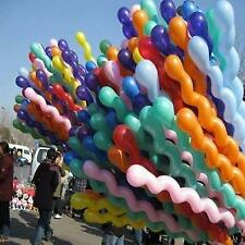 GIANT SPIRAL/SCREW BALLOONS for Birthday, Wedding, Party HUGE 140cm! - UK SELLER