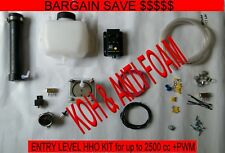 AAA HHO 11 PLATE DRY CELL COMPLETE HYDROGEN STARTER KIT