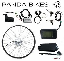 Panda Pro: Front Wheel, 36V 250W 10Ah Electric Bike Conversion Kit,  Li-Ion b...