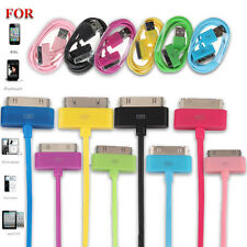 CAVO USB CABLE x IPHONE 4 4S 3G 3GS IPAD IPOD DATI CARICABATTERIA CARICABATTERIE