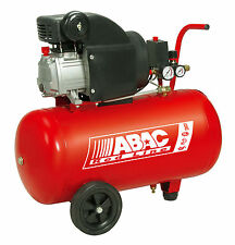 240V Piston Compressor 50 Litre 2 HP ABAC Electric Air Compressor 50 LTR 2HP