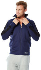 Zumba Fitness Mens Mirror Me Track Jacket NWT - Let's Go Indigo Blue (M, L, XL)