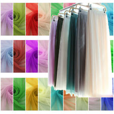 Dress Net Tutu Tulle Fabric Mesh Lace Fairy Material 160cm Wide Per Meter