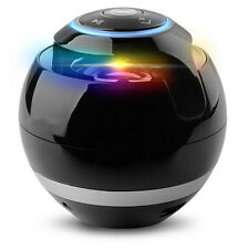 CASSA SPEAKER ALTOPARLANTE stereo wireless portatile Bluetooth Bass VIVAVOCE LED