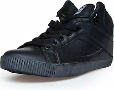 RUN ATHLETICS NYC Unisex Hi Top Sneakers Turnschuhe Gr. 39 41.5, Schwarz