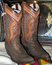 10754 Bottes Sendra boots western marron limited **PROMO**