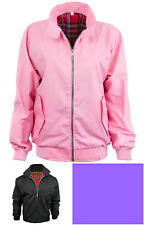 LIMITED EDITION Ladies Harrington Style Mod Jacket Vintage Girls Women Retro Top