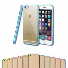 Custodia Silicone TPU HARD BACK Case Bumper Per Apple iPhone
