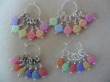 Knitting or Crochet Stitch Markers Sea Shells or Sea Snails Set of 6