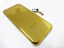 Battery Back Door Cover With Sim Tray And Button For iPhone 5C - Gold