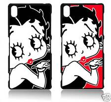 BETTY BOOP SONY XPERIA Z1 Z2 Z3 Z4 MINI COVER CASE CARCASA FUNDA Z1M Z2M Z3M Z4M