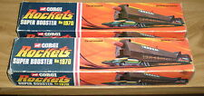 2 x CORGI Rockets Super Booster No 1970 - Boxed - Vintage From 1970
