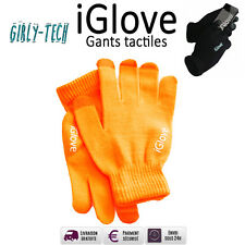 iGlove Gants Tactiles pour iPhone/iPad/Smartphone  (Orange)