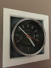 Hand Made Classic Mini Mk1 Speedometer Wall Clock Made From a Real Smiths Speedo