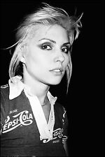 BLONDIE DEBBIE HARRY POSTER 1 (SIZES-A5-A4-A3-A2) +FREE SURPRISE A3 POSTER