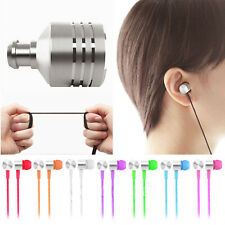 3.5mm Cristallo auricolare colore Cuffia in-ear stereo per Smartphone iPod MP3 4
