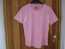 PRINCE AEROTECH PERFORMANCE TENNIS TOP 10 12 14 BNWT!! RED WHITE PINK WICKING