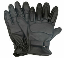 Leather Biker Gloves for Bike Racing and Bike Riding(100% Genuine Leather)
