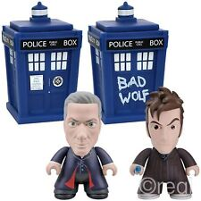 """New Doctor Who 12th 10th TARDIS Or Bad Wolf TARDIS 6.5"""" Titan Figure Official"""