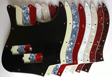 Jazz Bass Pickguard to fit Blacktop: various colours - 1, 3 or 4 ply
