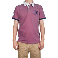 Tom Tailor Denim Herren Poloshirt sun bleached red