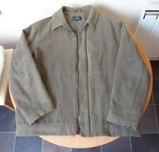 """VINTAGE MEN""""S NEXT GREEN JACKET WITH QUILTED LINING-LARGE SIZE-CIRCA 1990""""s"""