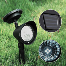 LED Solar Power Lamp Outdoor Garden Path Wall Light Induction Landscape