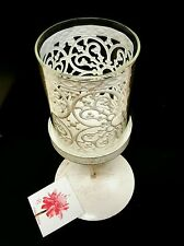 Shabby chic Lace Lantern Tea Light Candle Holder Filigree Wedding Home gift