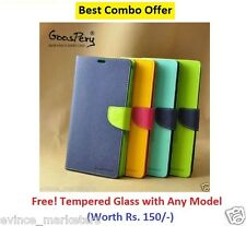 Mercury Wallet Style Flip Cover Case For SONY XPERIA MOBILES (ALL MODELS)