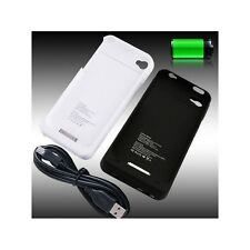 Portable External Power Pack Backup Battery Charger Case For iPhone 4 4S 1900mAh