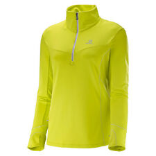 Neu! Salomon Trail Runner Warm Mid Laufshirts Langarm Damen